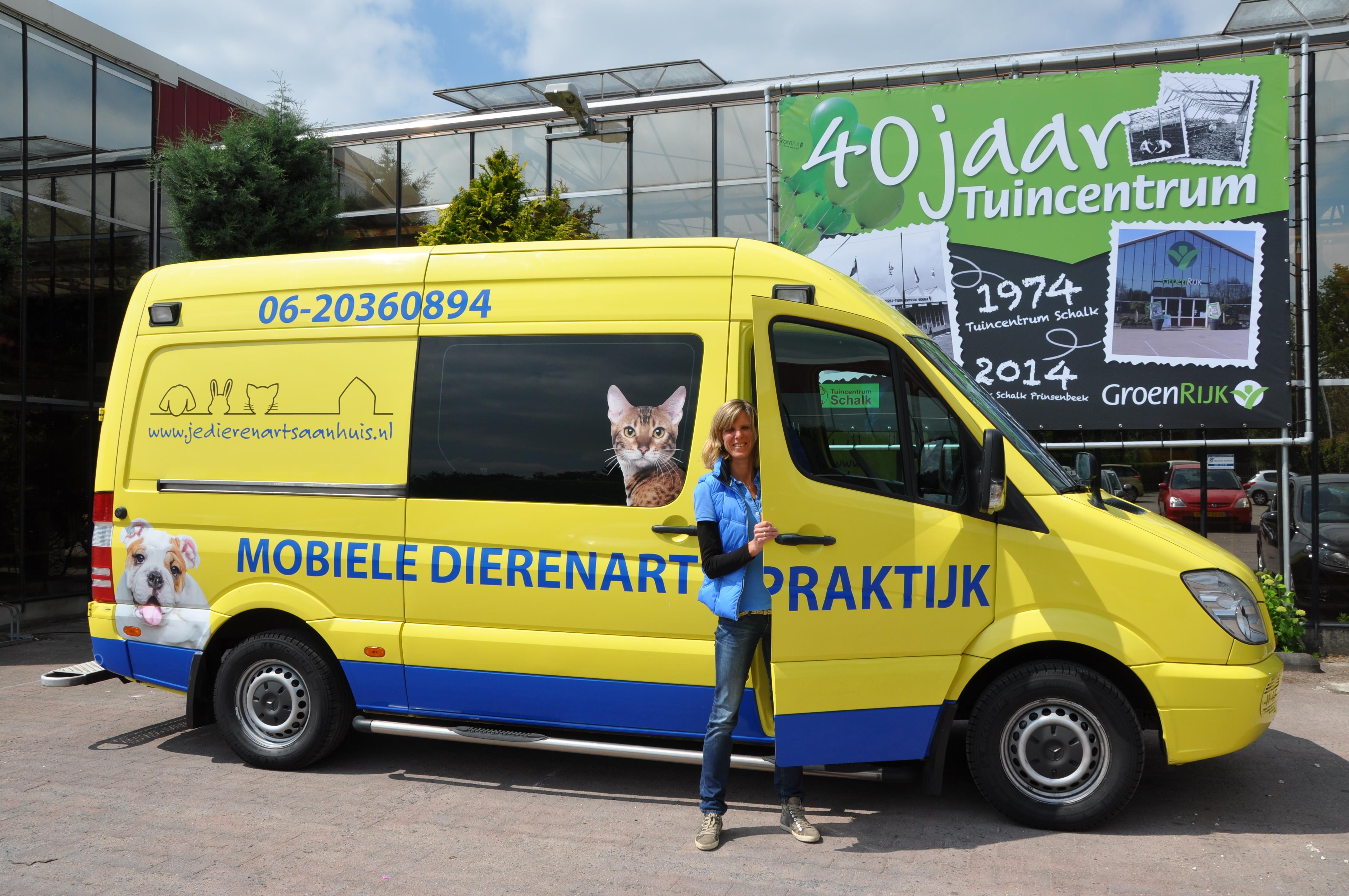 Mobiele dierenarts prinsenbeek